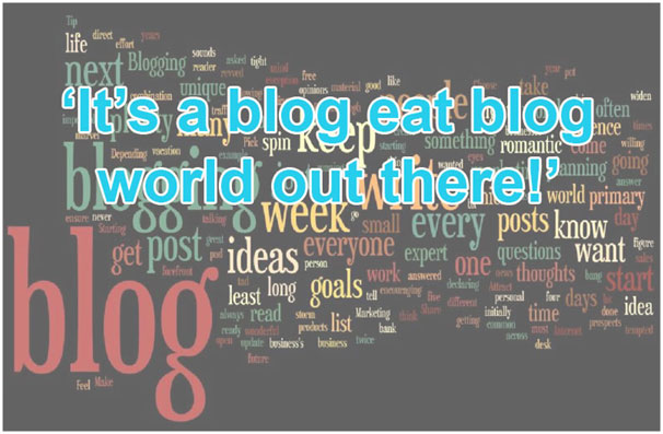 Don't Miss a Trick with Blog Writing