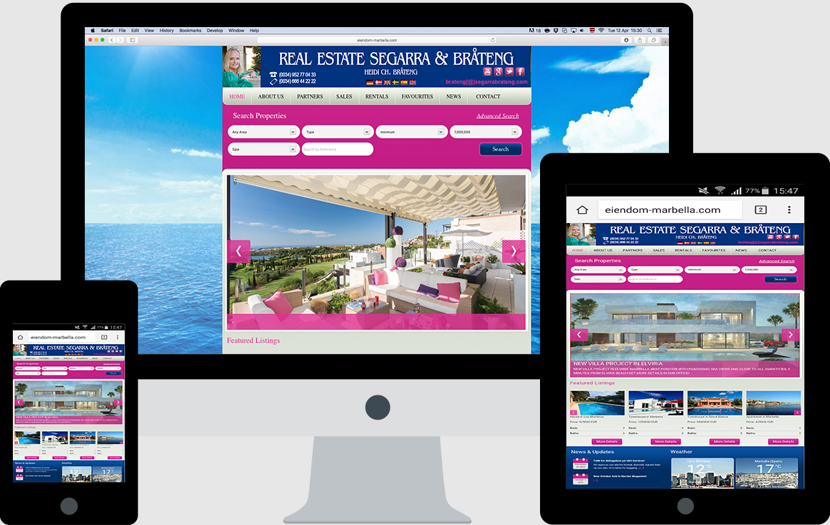Web Design in Marbella